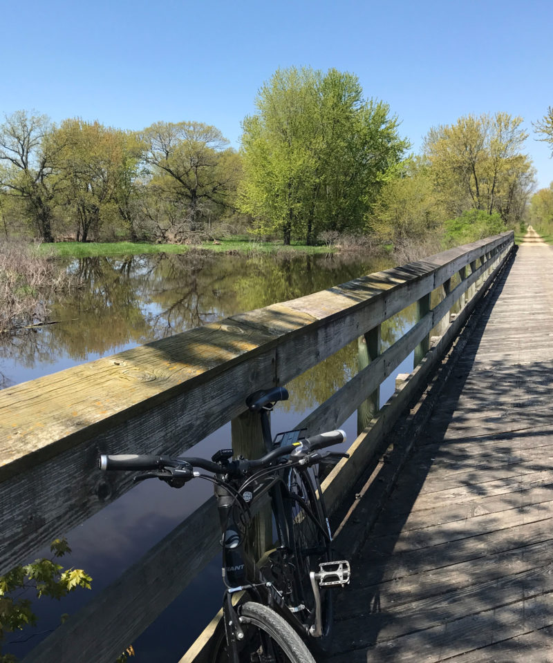 Wisconsin 4 trails tour - independent tourist bicycling tour