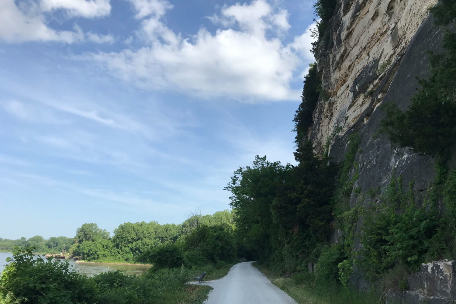Katy Trail High Bluffs Cycling Vacation