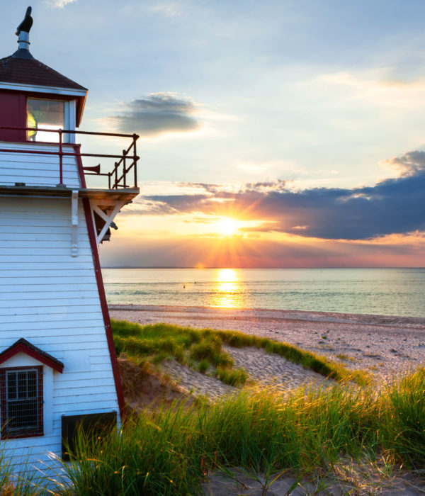 PEI-Lighthouse-Independent Tourist Bicycling Tours