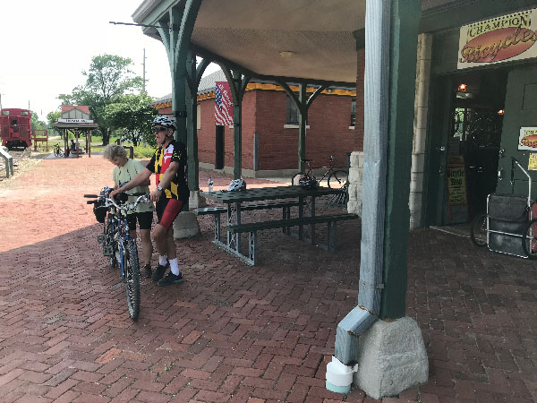 Katy Trail Missouri cycling tours